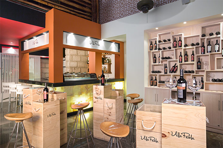 Cover image of a sample of the bar Villa Paola Wine Bar