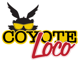 White Logo Coyote Loco Location