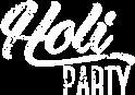 Logotipo Holi Party