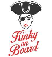 White Logo Kinky On Board Location