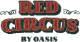 White Logo Red Circus Location