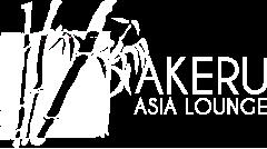 Logo Blanco Restaurante Akeru Asia Lounge
