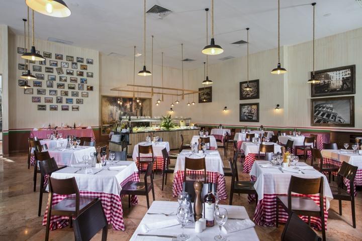 Cover image of a sample of the restaurant Dos Lunas Trattoria Restaurant