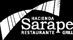 Logo Blanco Restaurante Hacienda Sarape