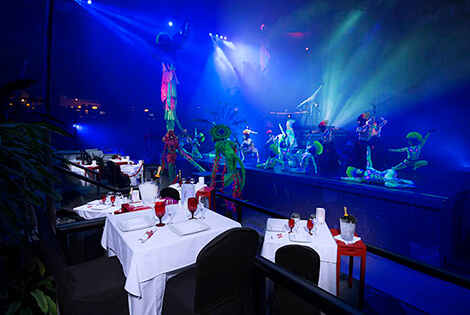 Cover image of a sample of the restaurant Red Circus Restaurant