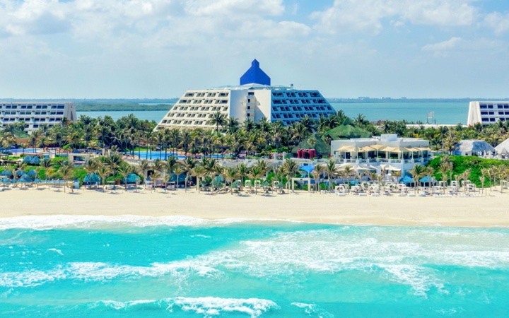The Pyramid at Grand Cancun Hotel View