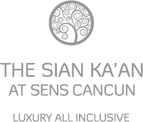 El restaurante Benazuza se encuentra en el hotel The Sian Ka'an at Sens Cancun