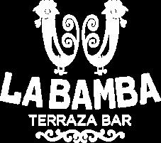 White Logo La bamba Restaurant