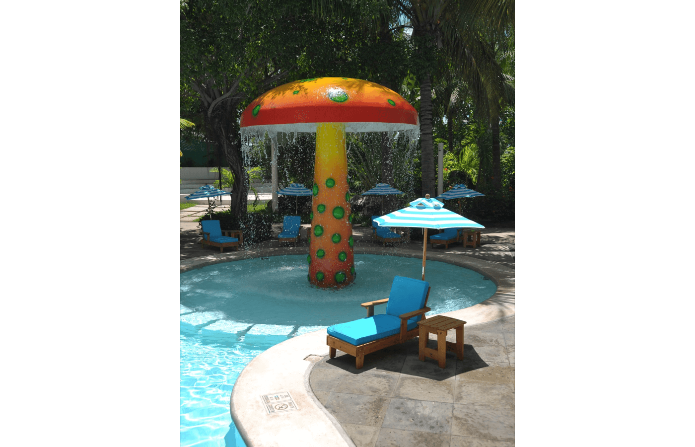 KiddoZone Recreation Area at Grand Oasis Palm Hotel
