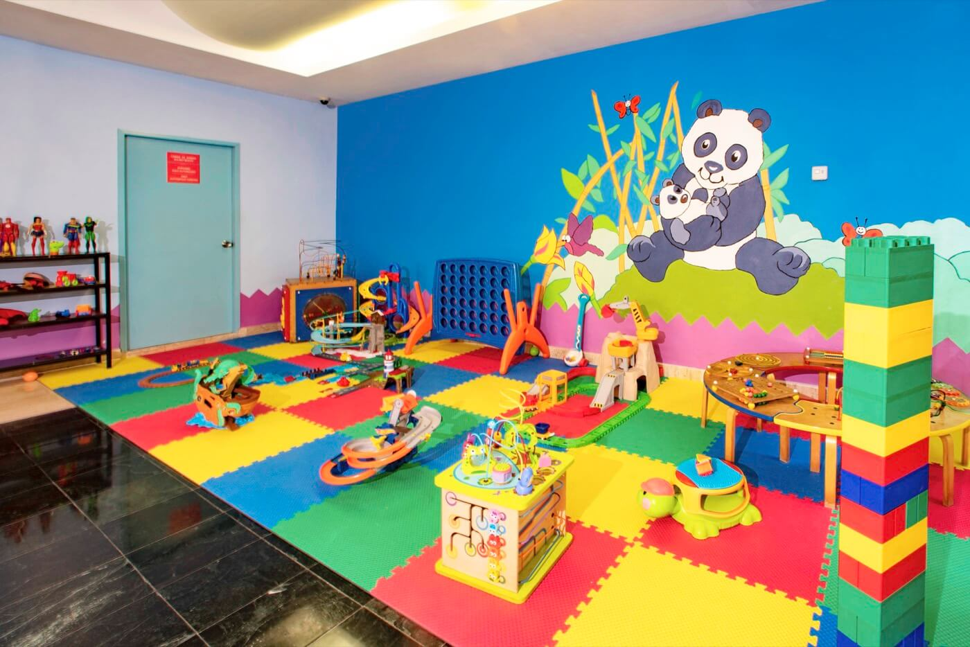 KiddoZone Recreation Area at Oasis Palm Hotel