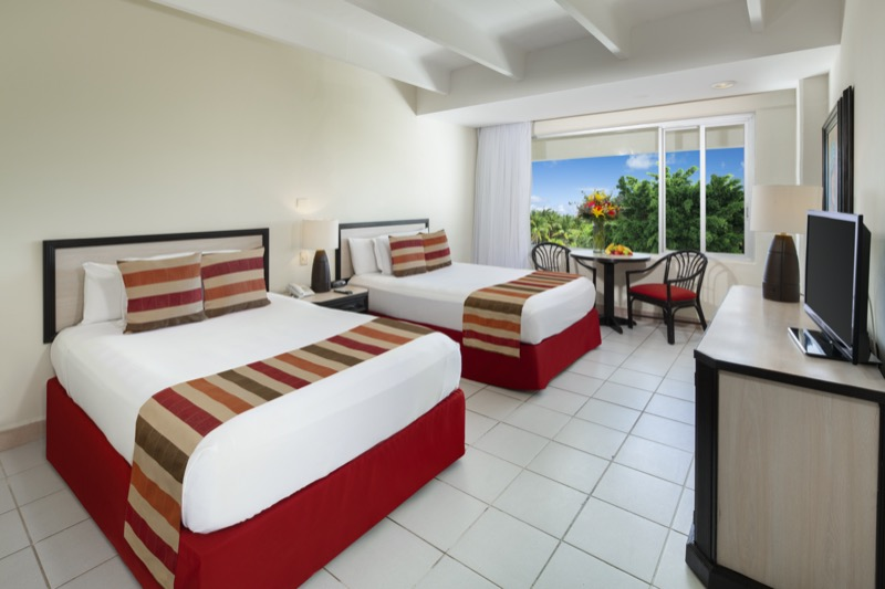 Standard Room with King Size bed and beautiful view in Oasis Palm Hotel