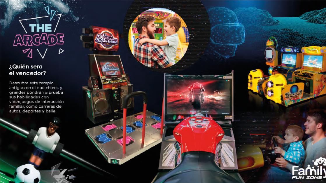 The Arcade Kiddo Zone