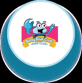 Baby Blue Crab Kids Club en Kiddo Zone