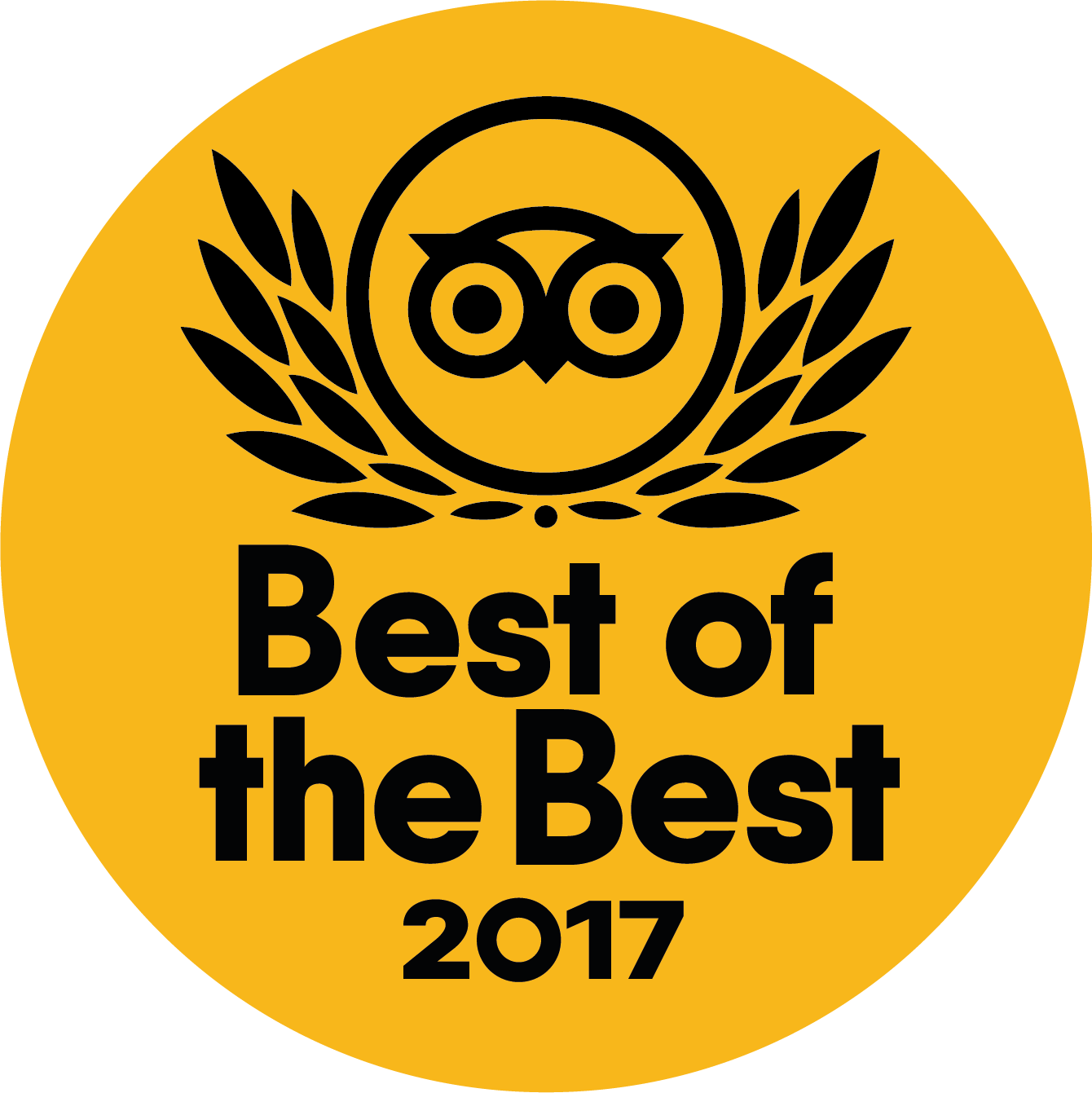 """Travellers' Choice """"Best of the Best"""" 2017"""