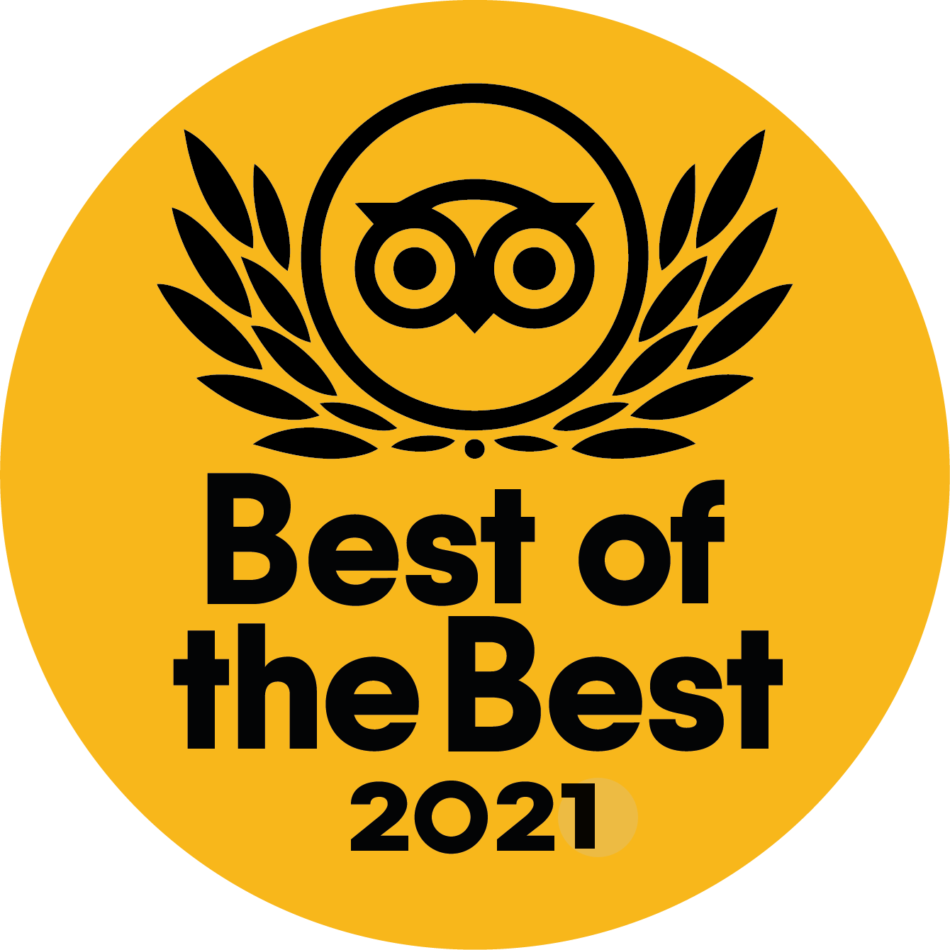 """Travellers' Choice """"Best of the Best"""" 2021"""