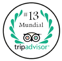 TripAdvisor Ranking #13 Mundial