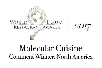 Molecular Cuisine Continent Winner: North America