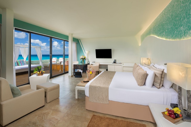 Junior Suite con cama King Size con hermosa vista en Hotel The Sian Ka'an at Grand Sens