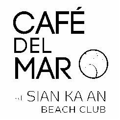 Logo Blanco Restaurante Café del Mar