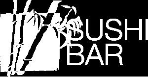 White Logo sushi bar Restaurant