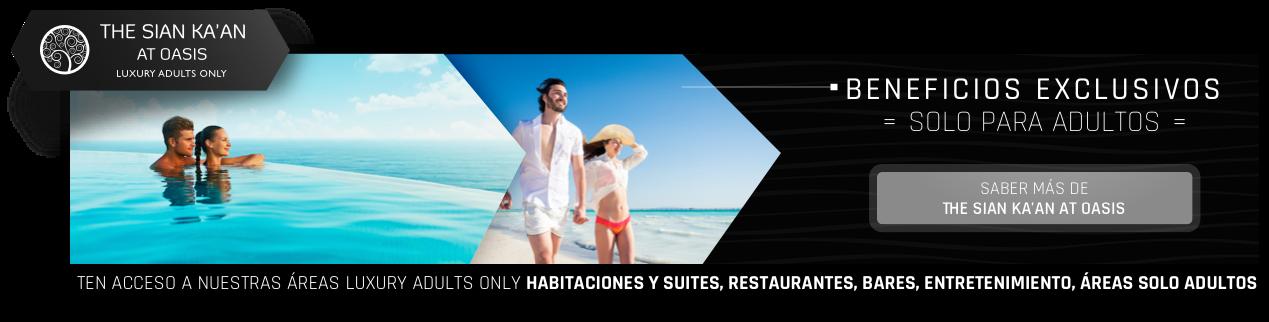 Hotel solo adultos en Cancún Sian Ka'an