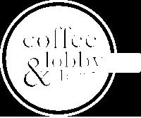 White Logo Coffee & Lobby Bar Restaurant