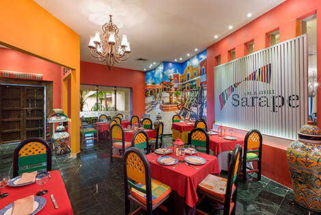 Cover image of a sample of the restaurant Sarape Restaurant