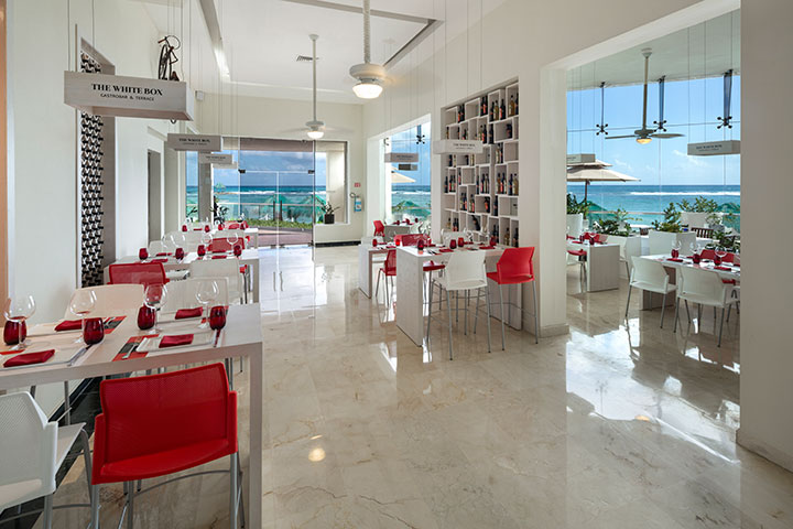 Cover image of a sample of the restaurant The white box Restaurant